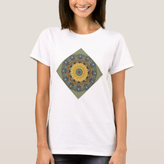 Rust-Mandala, Colors of Rust T-Shirt