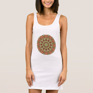 Rust-Mandala, ROSTart 712_2 D.1 Sleeveless Dress