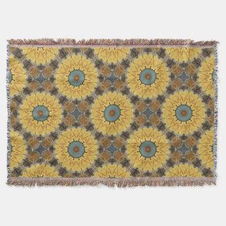 Rust-Mandala, ROSTart 894 Throw Blanket