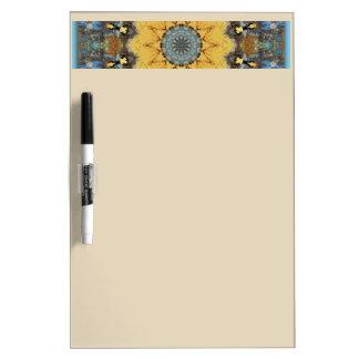 Rust-Mandala - ROSTart Dry Erase Board