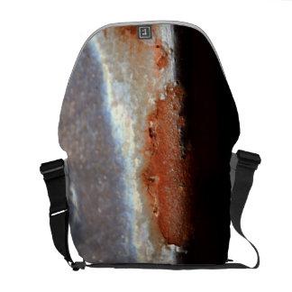 Rust Metal Steel Iron Grunge Industrial Photo Bag Messenger Bags