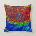 """Rust On Glass"" JTG Art Pillow"