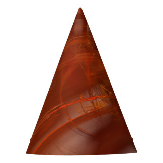 Rust Realm Fractal Party Hat
