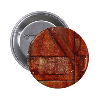 Rust Red Industrial Rivets 2 Inch Round Button