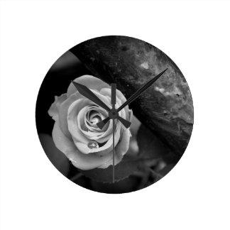 Rust & Rose Round Clock