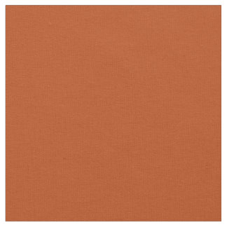 Rust Solid Color Fabric