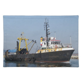 Rust Streaked Fishing Boat Placemats