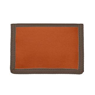 Rust Tri-fold Wallet