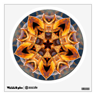 Rusted Anchor Mandala Wall Sticker