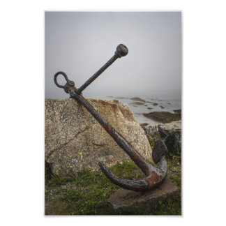 Rusted and Worn - An Anchor Ashore Photo Art
