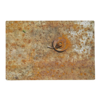 Rusted Art Laminated Place Mat