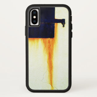 Rusted Bar Wall iPhone X Case