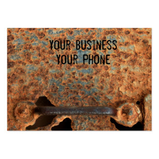 Rusted box business card