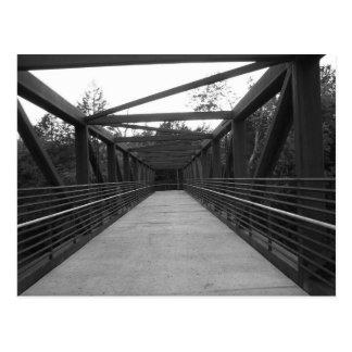Rusted Bridge Postcard