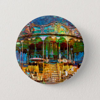 RUSTED CARNIVAL MEMORIES 2 INCH ROUND BUTTON