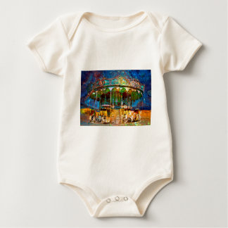 RUSTED CARNIVAL MEMORIES BABY BODYSUIT