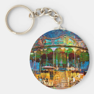 RUSTED CARNIVAL MEMORIES KEYCHAIN