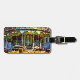 RUSTED CARNIVAL MEMORIES LUGGAGE TAG