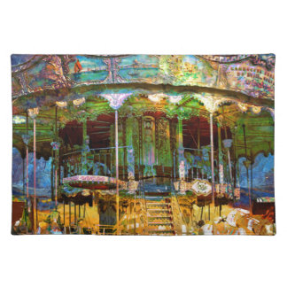 RUSTED CARNIVAL MEMORIES PLACEMAT