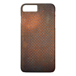 Rusted Check Plate iPhone 7 Plus Case