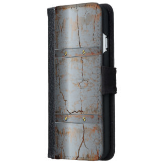 Rusted Cracked Metallic iPhone 6 Wallet Case