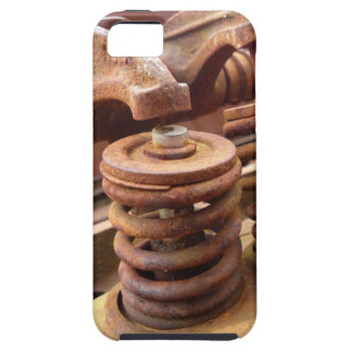 Rusted Engine Parts Manly Automotive Theme iPhone 5 Cases