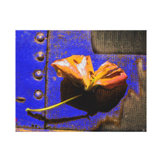 Rusted Flower Canvas Print