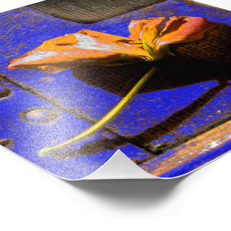 Rusted Flower Photo Print
