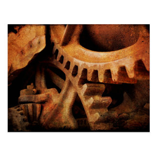 Rusted Gears Postcard