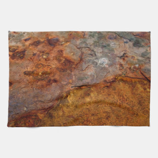 Rusted kitchen towel