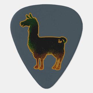 Rusted Llama Guitar Pick