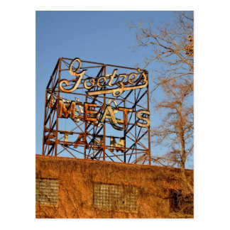 Rusted Meat Postcard
