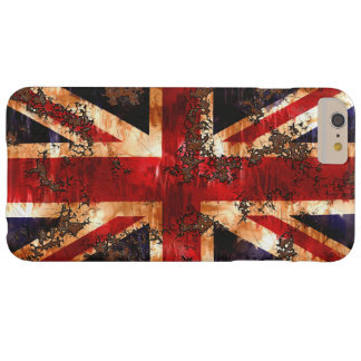Rusted Patriotic United Kingdom Flag Barely There iPhone 6 Plus Case