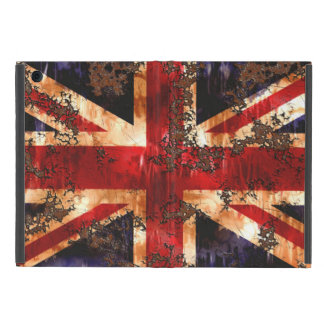 Rusted Patriotic United Kingdom Flag iPad Mini Cover
