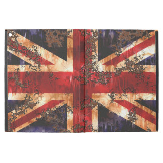 "Rusted Patriotic United Kingdom Flag iPad Pro 12.9"" Case"