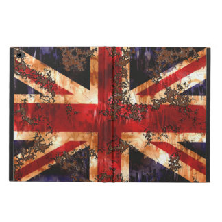Rusted Patriotic United Kingdom Flag Powis iPad Air 2 Case