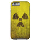 Rusted Radioactive Symbol Tough iPhone 6 Case