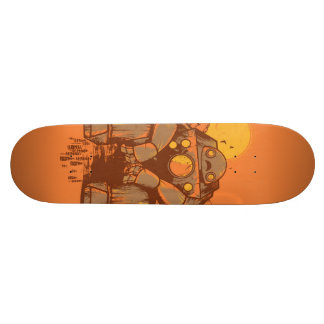 Rusted Robot Skate Deck