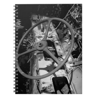 Rusted! Spiral Note Book