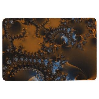 Rusted Splendor Fractal Floor Mat