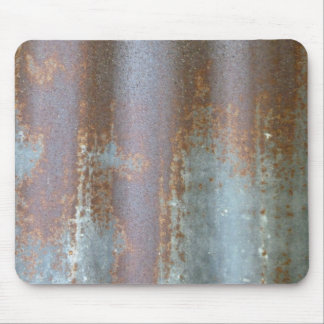 Rusted Tin Mouse Pad