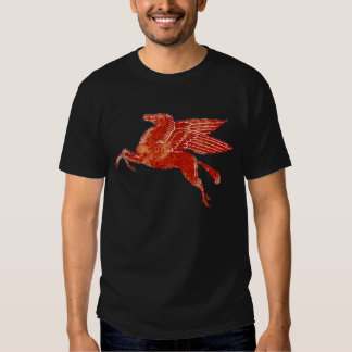 Rusted weathered Mobil Pegasus T-shirts