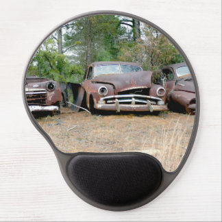 Rusted Wrecked Cars Gel Mouse Pad