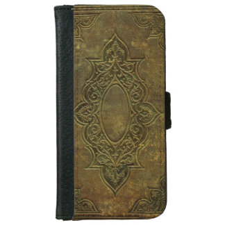 Rustic 200 Year Old Book Cover Faux Leather