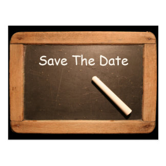 Rustic 60th Birthday Save The Date - Customizable Postcard