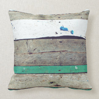Rustic Abstract Pillow