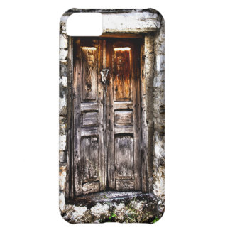 Rustic Ages Country Cottage Wooden Doorway iPhone 5C Covers