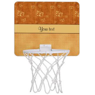 Rustic Amber  & Butterflies Mini Basketball Hoop