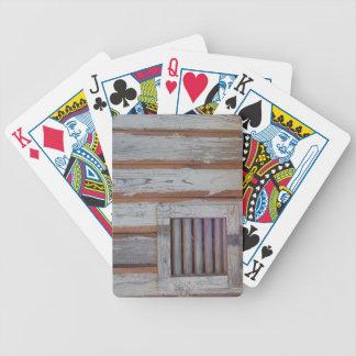 Rustic American Flag Poker Deck