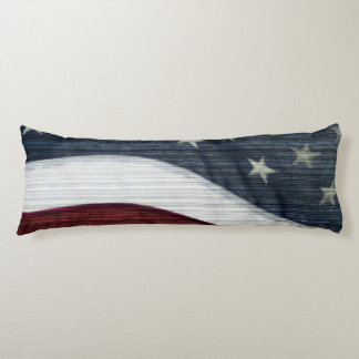 Rustic Americana Body Pillow